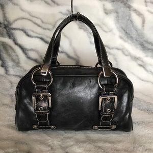 Franco Sarto Distressed Leather Small Satchel